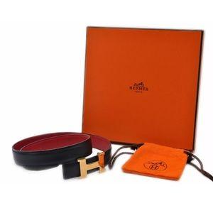 SOLD***Hermes Leather belt